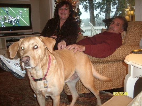 Bella friends dog