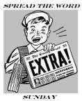 NEWSPAPER BOY EXTRA EXTRA