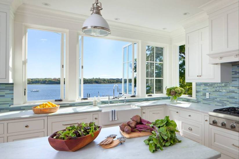 KITCHEN WITH A WATERVIEW WITH WHITE CABINETS 03 17 2016