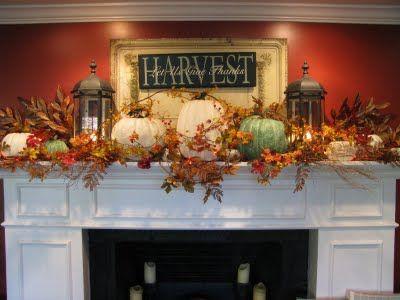 fall-fireplace-mantel-autumn-mantel 2017