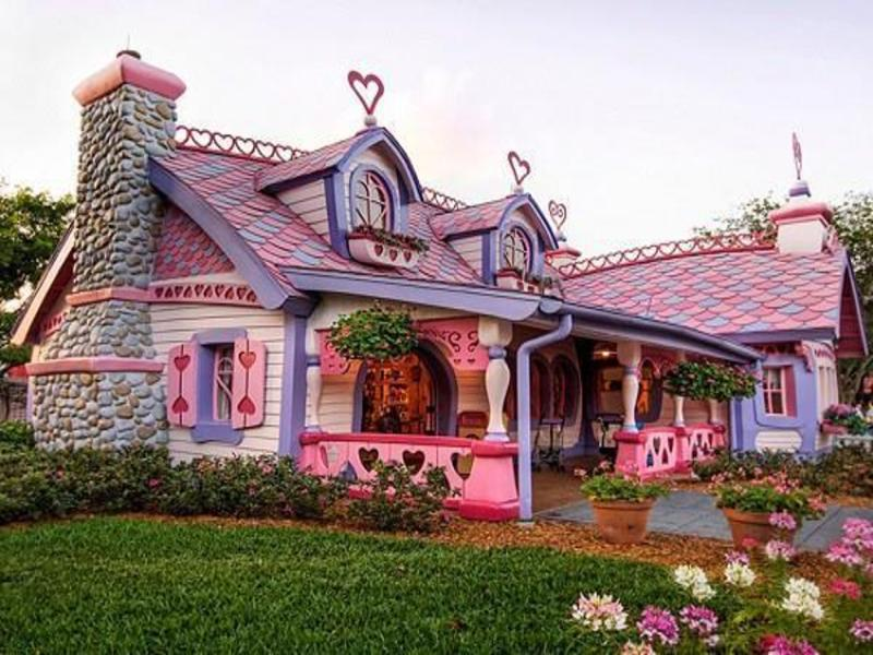 VALENTINE PINK AND PURPLE HOUSE 2018
